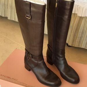 Bandolino Dark Brown Cazadora Boots